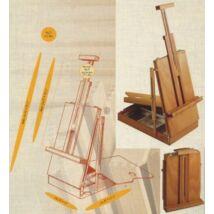 M/24 dobozos asztali festőállvány MABEF