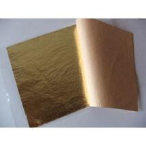 Aranyfüstfólia imitáció 14x14cm/25lap  - 2.5