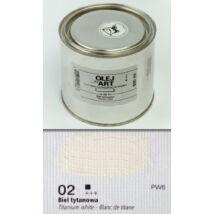 Olajfesték 500ml Renesans - 02 Titanium White
