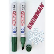 Alkoholos filc NGF green Snowman - zöld