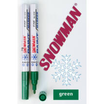 Lakkfilc FCP green Snowman - zöld