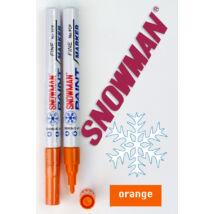 Lakkfilc FCP Orange Snowman - narancssárga