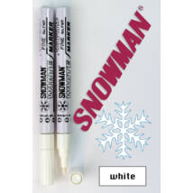 Lakkfilc FWP white Snowman - fehér