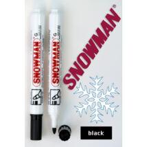 Alkoholos filc G black Snowman - fekete