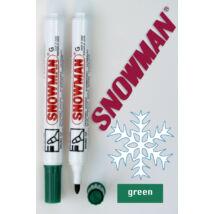 Alkoholos filc G green Snowman - zöld
