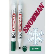 Alkoholos filc G-T green Snowman - zöld