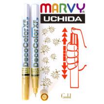 Lakkfilc DecoColor gold - tűhegyű arany