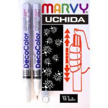 Lakkfilc DecoColor white - tűhegyű fehér