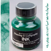 Kalligráf/rajztinta 30ml Diamine - Emerald