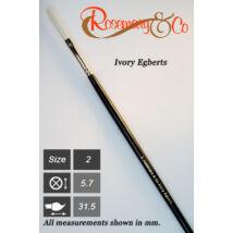 Ecset Ivory Egberts/2 Rosemary
