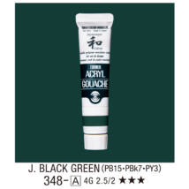 Akrilfesték 348-A Japan Black Green 20ml Turner