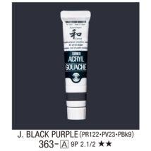 Akrilfesték 363-A Japan Black Purple 20ml Turner