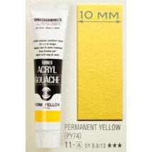 Akrilfesték 40ml Turner - 011 Permanent Yellow