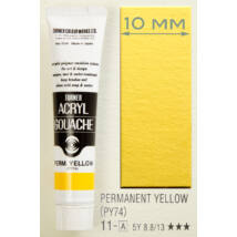 Akrilfesték 40ml Turner - 011 Permanent Yellow