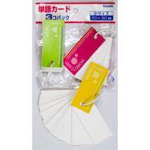Szótárkártya 3db 70x30mm WorldCard