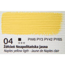 Olajfesték 60ml Renesans - 04 Naples yellow light