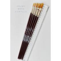 Ecset 2304/ 2 lapos lekerekített szintetikus Kolibri