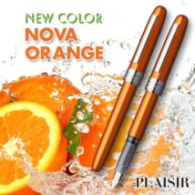 Töltőtoll Plaisir PGB-1000 Platinum Nova Orange