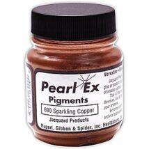 Pigmentpor 21g PearlEx Jacquard - 690 Sparkling copper