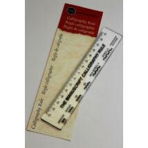 Kalligráfia vonalzó Manuscript MC360B