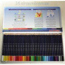 Akvarellceruza 36db-os fémdobozos ALPINO