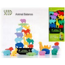 Radírszett Seed - szárazföldi állatok