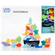 Radírszett Seed - vizi állatok