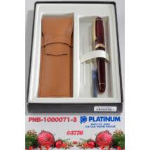 Töltőtoll szett PNB-10000/71 Bourgogne Platinum M heggyel-  csak személyes átvétel