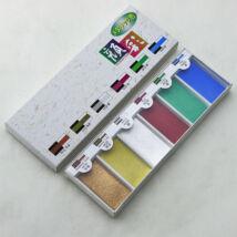 Akvarellszett 6 szín Gansai - Gyöngyház színek No.15500