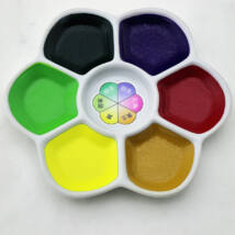 Akvarellszett 6 szín sziromtálban Gansai - Colour Palette