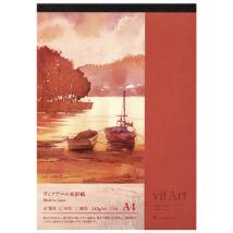 Akvarelltömb A4/15lap VIFART Maruman S104VA
