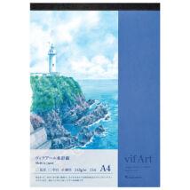 Akvarelltömb A4/15lap VIFART Maruman S304VA