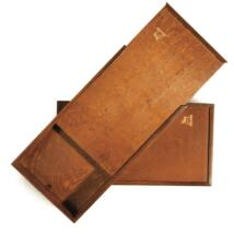 Festékesdoboz 60ml-es tubusokhoz csúszós fedéllel Renesans