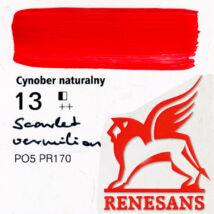 Akrilfesték 60ml Maxi Renesans - 13 Scarlet vermilion