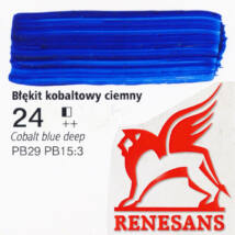 Akrilfesték 60ml Maxi Renesans - 24 Cobalt blue deep