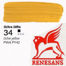 Akrilfesték 60ml Maxi Renesans - 34 Ochre yellow
