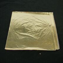 Aranyfüstfólia 2.5 imitáció 14x14cm/100lap  Renesans