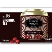 Fekete tea 50g Lisbon Tea co. Ginjinha ízesítéssel