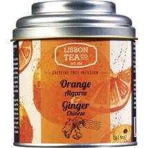 Gyümölcstea 75g Orange Ginger Lisbon Tea co.