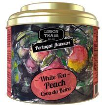 Fehértea 25g Peach Lisbon Tea co.