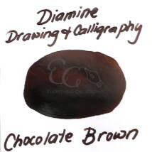 Kalligráf/rajztinta 1iter Diamine - Choccolate Brown