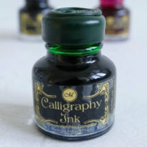 Kalligráftinta 30ml pecsétviasz zárral Manuscript - Emerald