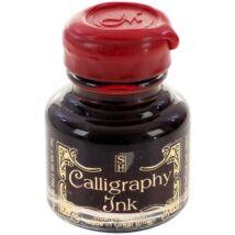 Kalligráftinta 30ml pecsétviasz zárral Manuscript - Ruby