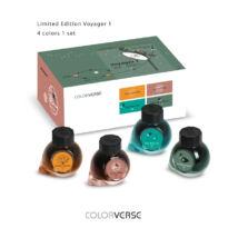 Töltőtolltinta 4x15ml Colorverse - Voyager-I 2018 limited Edition