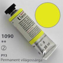 Gouache 35ml Umton - 1090 Permanent világossárga