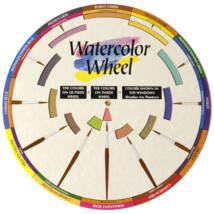 Akvarell színkerék Color Wheel ACW3459