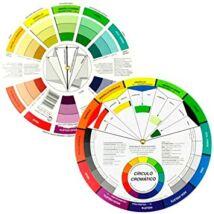 Színkerék nagy Color Wheel ACW3492 spanyol nyelvű