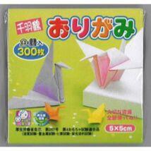 Origami 5cm 300lap szines minidaru