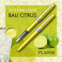 Töltőtoll Plaisir PGB-1000 Platinum Bali Citrus