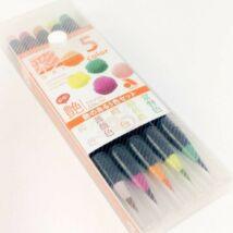 Akvarell ecsettoll 5db-os szett Akashia Sai - Tsuya
